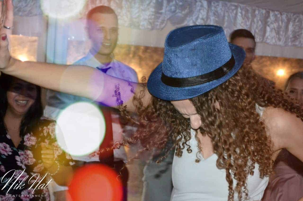 Girl Dancing With Hat